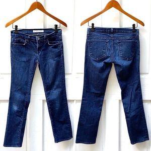 J Brand Seven-Eighths Skinny Ankle Crop Jean Sz 26